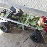 Halvor Rønning, Martyn Reynolds Detail of Jumpshot SC Radiostyrt bil, aluminium, diverse materialer (2016)