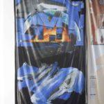 Halvor Rønning, Martyn ReynoldsDMT Stiletto Scan UV-print på nylon (2016)